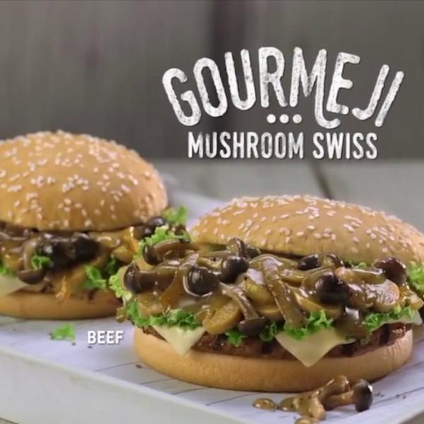 BK Gourmeji Burger