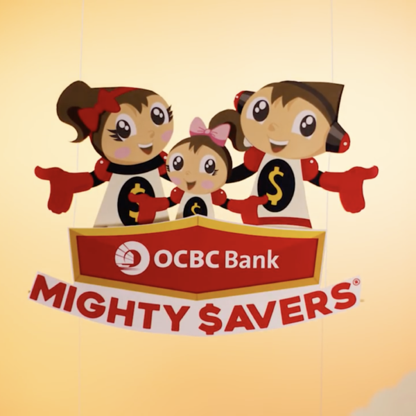 OCBC: Mighty Savers campaign